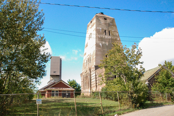 Ishpeming headframe