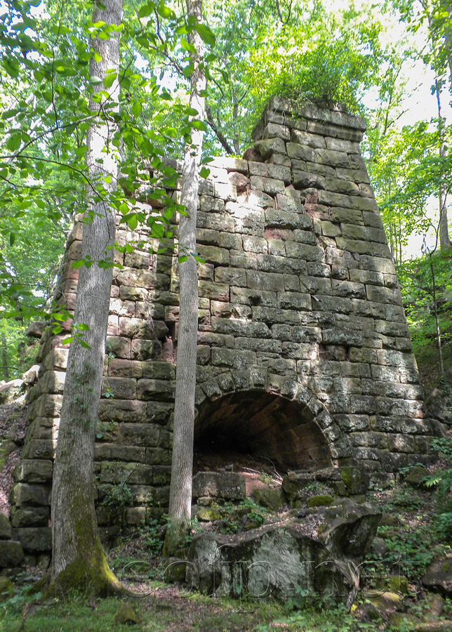 Encyclopedia Of Forlorn Places Endor Iron Furnace