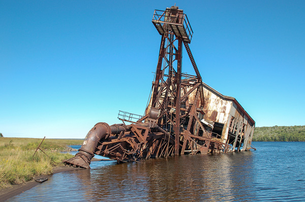 Quincy Dredge