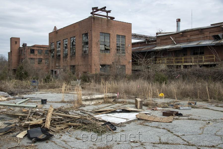 Encyclopedia Of Forlorn Places Greensboro North Carolina
