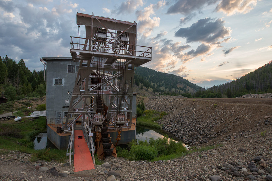 Encyclopedia of Forlorn Places | Yankee Fork Dredge, Idaho