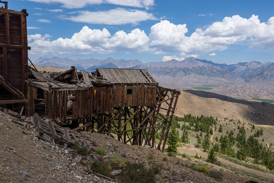 Encyclopedia of Forlorn Places | Mackay Mine Hill, Idaho