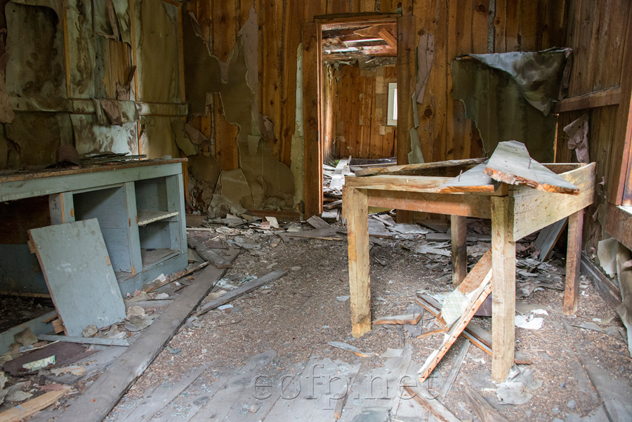 Encyclopedia of Forlorn Places   Mackay Mine Hill, Idaho
